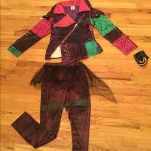 Disney Descendents Mal Deluxe Costume Size 11-12
